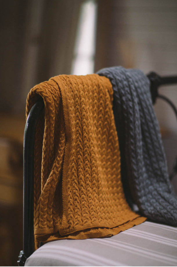 Fine-Cable-Baby-Blanket-Saffron-E-Shop-Jude